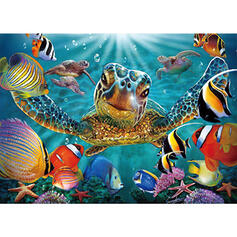 Animal Colourful High Quality Card Paper Christmas Ornements Puzzle