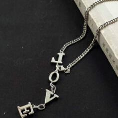 Charming Delicate Silver Plated With Metal Chain Décor Women's Ladies' Girl's Necklaces