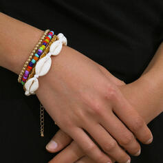 Shell Shaped With Shell Women's Ladies' Bracelets 4 PCS