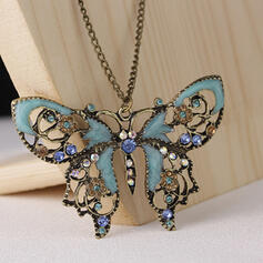 Fashionable Classic Charming Artistic Delicate Alloy With Minimalist Women's Necklaces