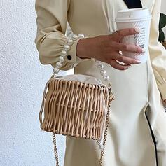 Refined/Pearl Style/Braided Tote Bags/Crossbody Bags/Beach Bags