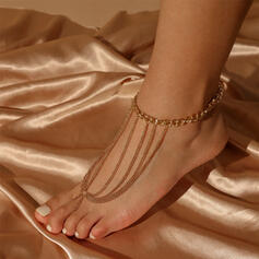 Hottest Link & Chain Iron Women's Anklets