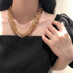 Beautiful Fashionable Simple Pretty Alloy Women's Necklaces