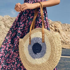 Splice Color/Bohemian Style/Braided Tote Bags/Beach Bags