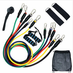 Sports Multi-functional TPR Resistance Band Sports Tools (Set of 11)