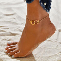 Simple Hottest Alloy Women's Beach Jewelry Anklets