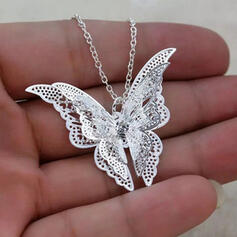 Butterfly Luck Alloy With Butterfly Women's Necklaces Chain Belt Choker Necklace