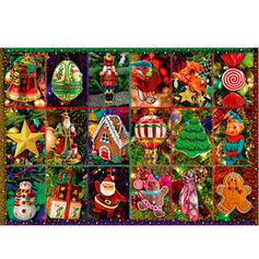 Christmas Christmas Card Paper Christmas Ornements Puzzle