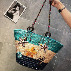 Splice Color/Star/Braided Crossbody Bags/Beach Bags