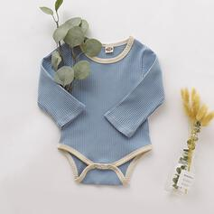 Baby Solid Cotton One-piece