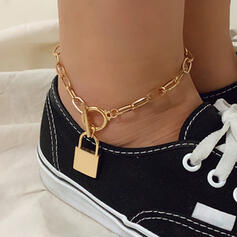 Fashionable Sexy Vintage Alloy With Gold Plated Women's Ladies' Anklets 1 PC