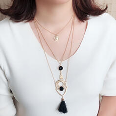 Exquisite Chic Charming Fox Attractive With Tassels Imitation Stones Women's Ladies' Girl's Necklaces