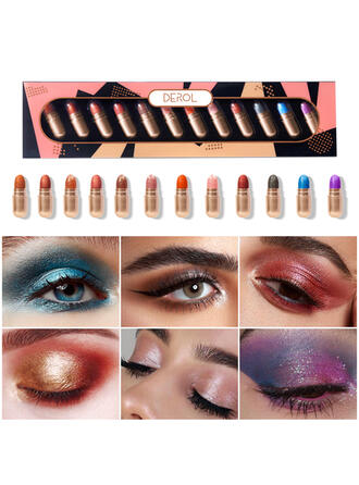 12 PCS Shimmer Classic Eyeshadow With Box