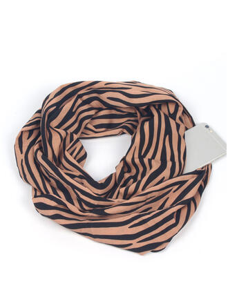Striped fashion/Breathable/Multi-functional Scarf/Pocket Scarves