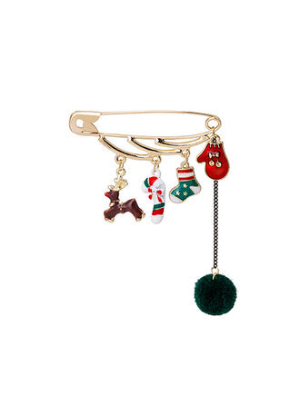 Christmas Alloy Women's Fashion Brooches 1 PC