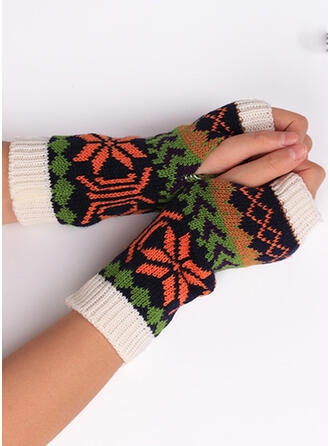Floral/Print Breathable/Women's/Christmas Gloves