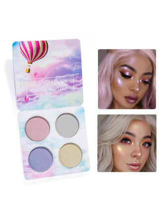 4-color Classic Eyeshadow With Box