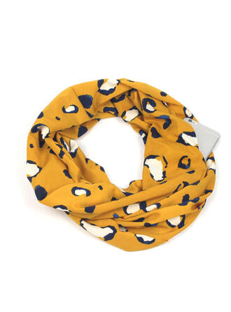 Leopard fashion/Breathable/Multi-functional Scarf/Pocket Scarves