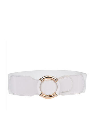 Simple Charming Artistic Delicate Leather With Breathable Minimalist Women's Wide Belt
