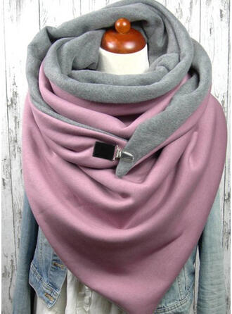 Solid Color Shawls/fashion/Comfortable/Triangle Scarf